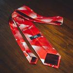 cravatta vintage rossa 3