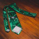 cravatta vintage verde 3