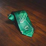 cravatta vintage verde 1