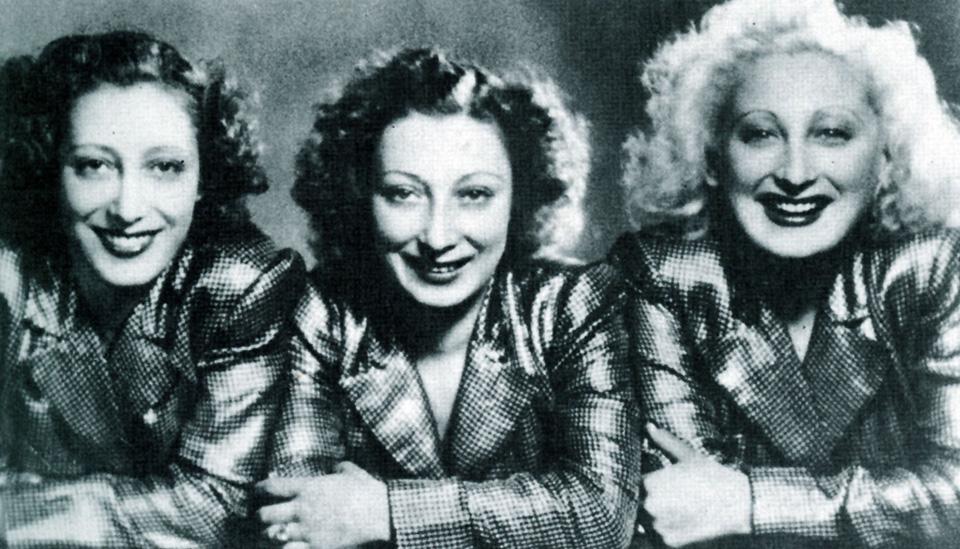 Storia Leggenda Successo Trio Lescano Chi Erano