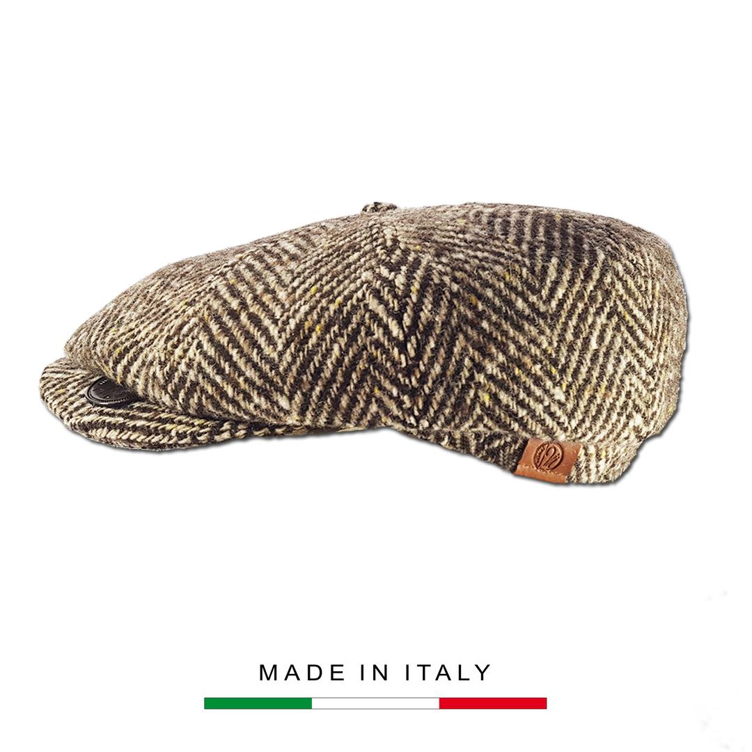 Coppola Vintage a spina marrone_1