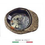 Coppola Vintage a spina marrone_2
