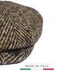 Coppola Vintage a spina marrone_3